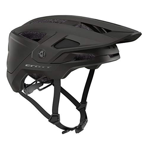 Scott Stego Plus MTB Fahrrad Helm schwarz 2021: Größe: S (51-55cm)