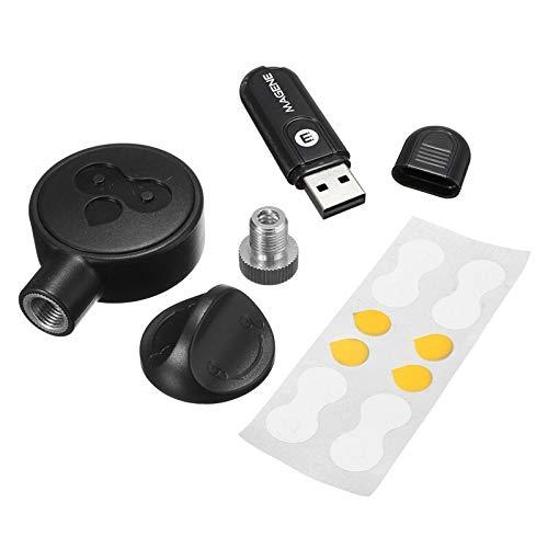 MXBIN Sensor de Velocidad del Receptor USB Stick transmisor Montar a Caballo Virtual Ant + Herramienta de reparación de Piezas de Accesorios (Color : A)