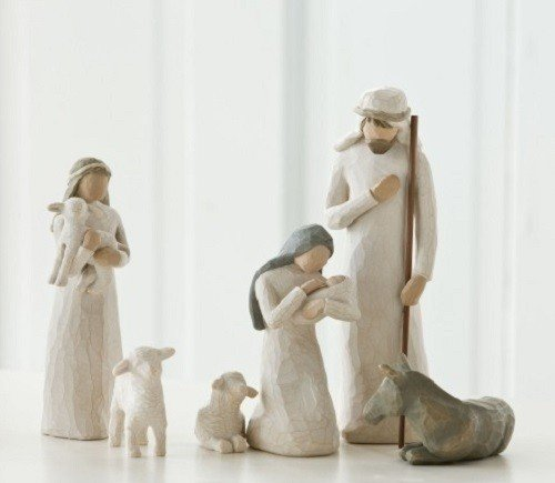 Heilige Familie / Nativity von Willow Tree