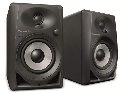 Pioneer DM-40BT altavoz De 2 vías Negro Inalámbrico y alámbrico 3,5mm/Bluetooth - Altavoces (De 2 vías, Inalámbrico y alámbrico, 3,5mm/Bluetooth, 70 - 30000 Hz, 10000 Ω, Negro)
