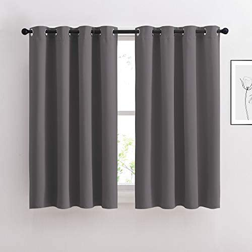 NICETOWN Bedroom Blackout Curtains Panels Window Treatment Thermal Insulated Solid Grommet Blackout product image