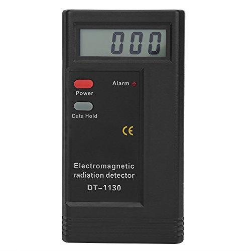 ASHATA Detector de radiación electromagnética, LCD Detector de radiación de radiación Digital, Medidor portátil de Mano Electromagnético Detector de radiación electromagnética Probador