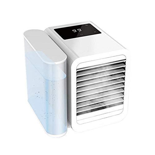 XXF-Shop Condizionatore Portatile Ventilatori silenziosi per la Camera da Letto Torre Ventilatori Camera Ventola Fan Radiante Acqua Ventilatori Air Rechers Silent Pedestal Fan