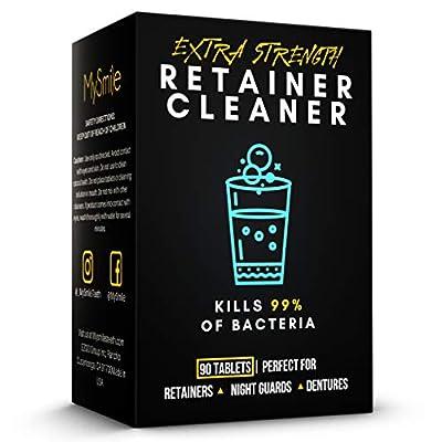 MySmile Retainer Cleaner Tablets