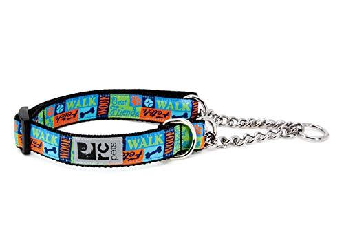 "RC Pets 1"" Martingale Training Collar, Medium, Best Friends"