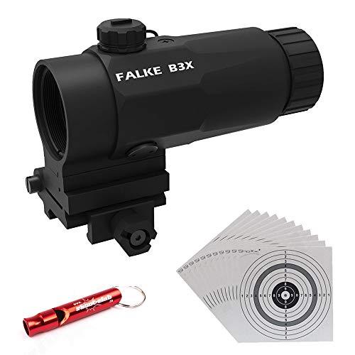 Falke B3X Magnifier Vergrößerungsmodul, Macht aus Allen gängigen Reflexvisieren EIN 3-faches Zielfernrohr.