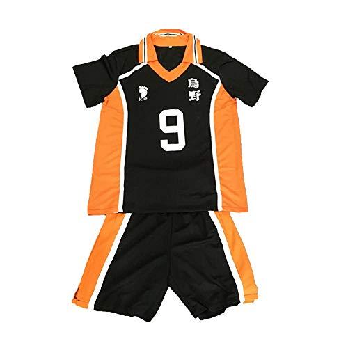 hengGuKeJiYo Haikyuu Karasuno Cosplay Shoyo Hinata Disfraz Uniforme de Secundaria Kageyama Tobio Jersey Teamsports Jersey