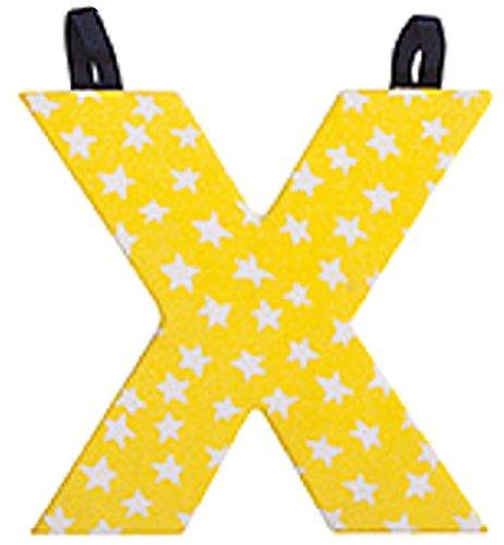 JoJo Maman Bébé - Lettre X en Tissu Couleur Primaire