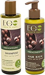 EO Laboratorie natural & organic Strengthening Shampoo 250 ml + Conditioner 200 ml