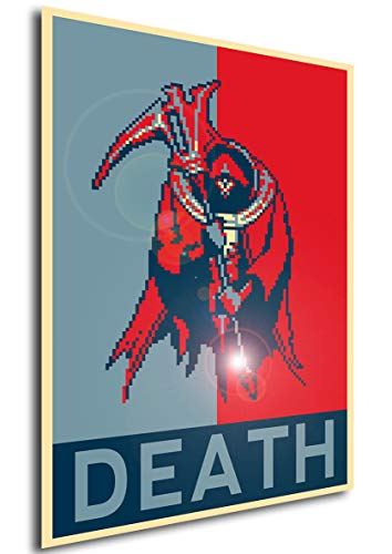 Instabuy Poster - Propaganda - Pixel Art - Castlevania Portrait of Ruin - Death A3 42x30
