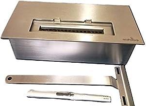 Queimador para lareiras ecológicas à álcool F 32-32 cm