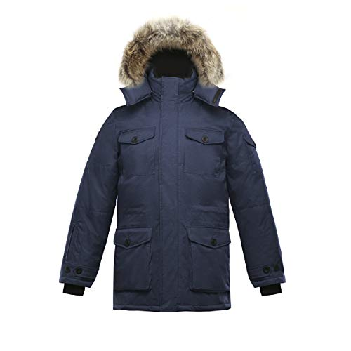 Triple F A T Goose SAGA Mens Hooded Goose Down Jacket