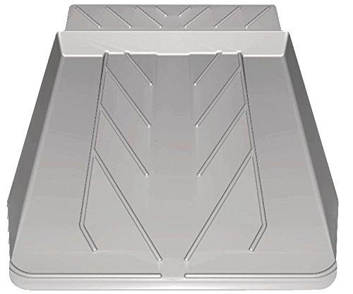 Abtropfschublade Geschirrspüler 45 cm Grau, Auffangwanne unter Spülmaschine Rückseitige Auffangleiste Von (973977006695)