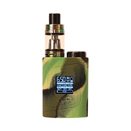 1 PCS Smok Alien Baby 85W Texture Silicone Protective Gel Skin Case Cover Sleeve Wrap Fits 85 Watt Smoktech AL85,Multi