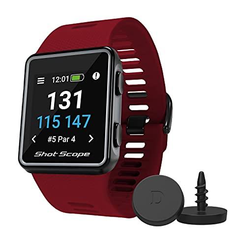 Shot Scope V3 GPS Watch (Red) - F/M/B +...