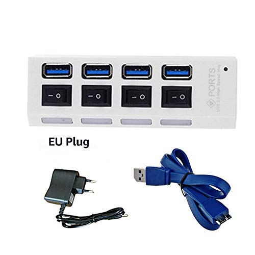 USB HUB Micro USB 3.0 HUB splitter met voeding USB Hab High Speed