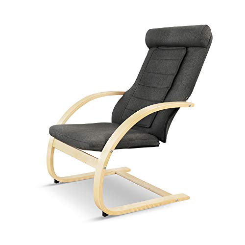 Medisana RC 410 Relaxsessel mit Shiatsu-Massagefunktion, Swing-Sessel mit Wärmefunktion, Spotmassage mit Wohlfühlfaktor
