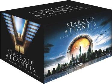 Stargate Atlantis - L'intégrale des 5 saisons - Coffret collector 25 DVD [FR Import]