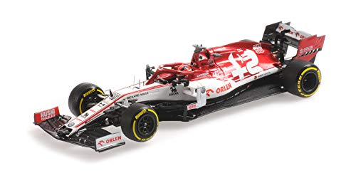 Formule 1 Alfa Romeo Racing F1 C39 #88 R. Kubica Testing Session 19.02.2020 - 1:43 - Minichamps