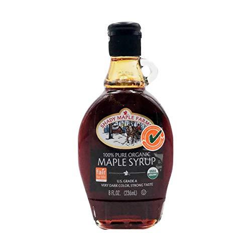 Shady Maple Farms, Syrup Very Dark Organic, 8 Fl Oz