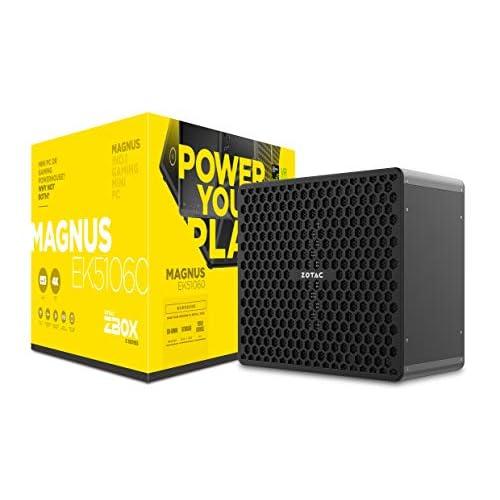 Zotac ZBOX MAGNUS EK51060 2,5 GHz i5-7300HQ Scrivania Nero