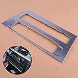 Chrome Car Styling Center Console Air Condition Button Cd Panel Trim For X3