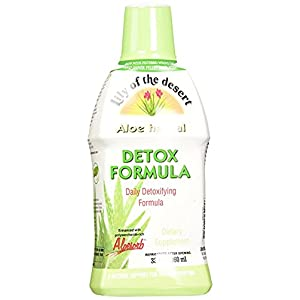 Lily of The Desert Aloe Herbal Detoxifying Formula, 32 Fluid Ounce Aloe Vera detox