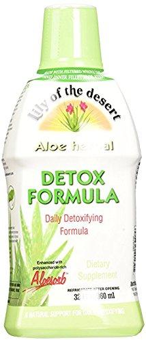 Lily of The Desert Aloe Herbal Detoxifying Formula, 32 Fluid Ounce Aloe Vera detox
