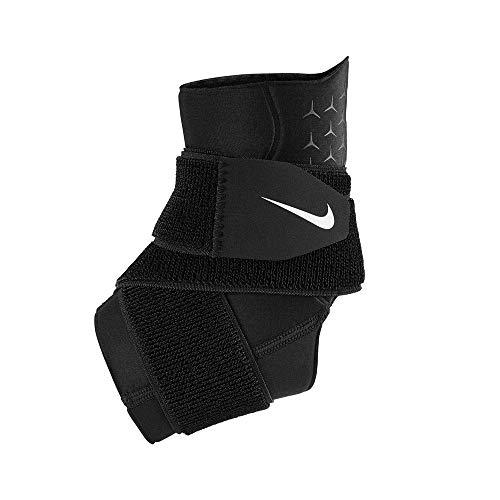 Nike Unisex– Erwachsene Pro Ankle Sleeve Knöchelbandage, Schwarz, M