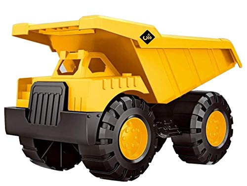 VEZOL Brings Jumbo Big Size Automobile Construction Engineering Plastic Toy Vehicle Dumper Truck for Kids, Multicolor