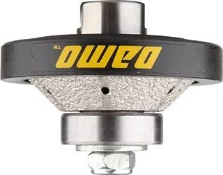 DAMO 3/8 inch Bevel Diamond Hand Profiler Router Bit Profile Wheel with 5/8-11 Thread for Granite Concrete Marble Countertop Edge