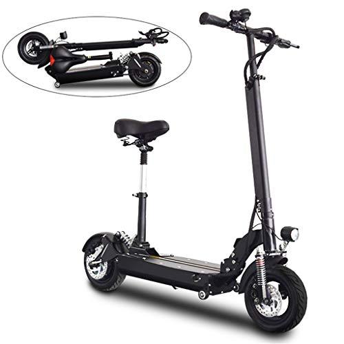 Scooter elettrico TYXTYX Adulti Monopattino Elettrico,50 km di autonomia,Potente Motore da 800W,Batteria agli ioni di Litio da 48V 15.6AH,Ultraleggero Pieghevole Adulti e Adolescenti