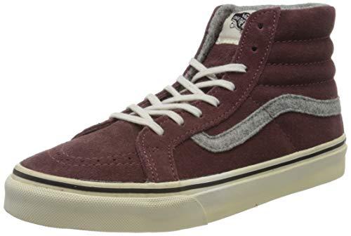 Vans Damen SK8 Hi Slim Hohe Sneaker, Rot (Burgundy V0018IJV3), 36.5 EU