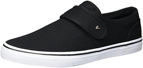 Lugz Men's Voyage II Sneaker, Black/White, 10.5 D US