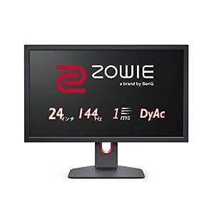 "BenQ ZOWIE XL2411K 24型ゲーミングモニター (Full HD/24型/144Hz/1ms/DyAc技術搭載/小さめ台座/新筐体デザ..."""