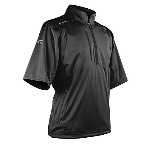 Sun Mountain Rainflex SS Pullover – Black (Medium)