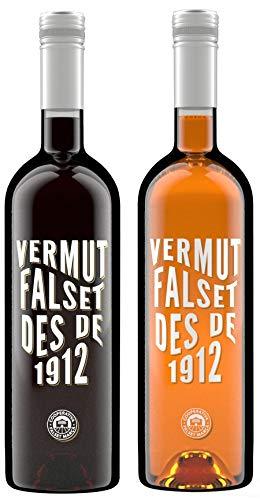 Descubre Vermut Falset des de 1912 - Vermut Rojo y blanco - 2 x 75 cl