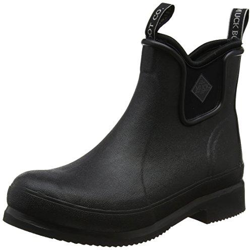 Muck Boots Unisex-Erwachsene Wear Gummistiefel, Schwarz (Black/Black), 38 EU