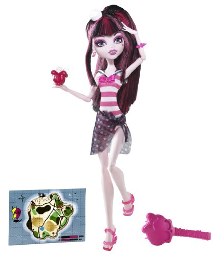 Monster High Skull Shores Draculaura Doll
