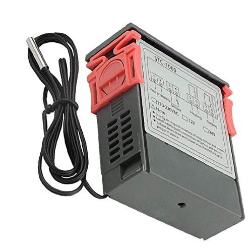 Visualización de la temperatura Controlador digital de STC-1000 microordenador digital 110V-220V Temperatura ormance PE ControllerStable, de alta precisión, fácil de llevar el instrumento de medición