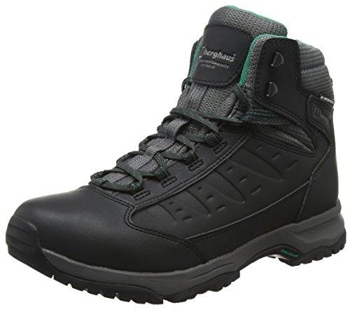 Berghaus Dames Explorer Actief M Gore-Tex Walking Laarzen Hoge Rise Wandelen, Zwart (Zwart/Donker Grijs Bk2), 4 UK 37 EU