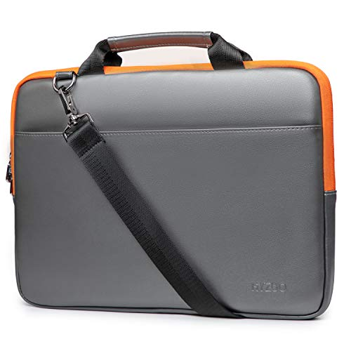 HYZUO 13-13.5 Zoll Laptop Hülle Handtasche mit Schultergurt Kompatibel mit MacBook Air 13/ MacBook Pro 13/13,5 Zoll Surface Laptop/Book/iPad Pro 12,9/ Dell Inspiron 13/ HP Envy 13/ Asus ZenBook 13