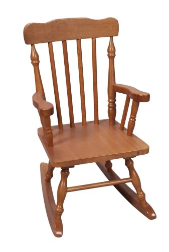 Gift Mark FBA_ Child's Colonial Rocking Chair, Honey