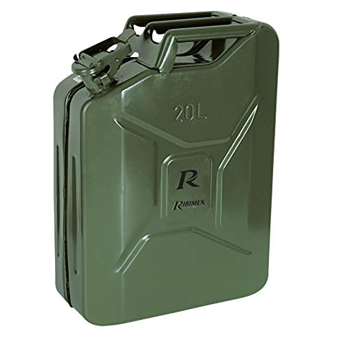 Ribimex PRJE20METAL Tanica in Metallo, 20 l, Verde