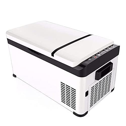 GGZZLL 20L mini refrigerador portátil compresor refrigerador congelador refrigerador refrigerador coche congelador vehículo coche camión mini refrigerador eléctrico