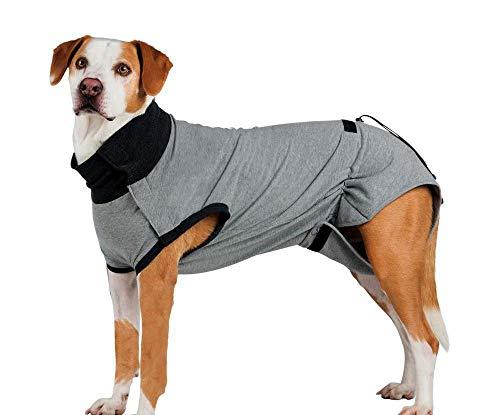 Schutzkleidung Für den Körper Nach der Operation, S-m, 40-Cm-Grau Reha-Hilfsmittel Und Maulkörbe, Hunde