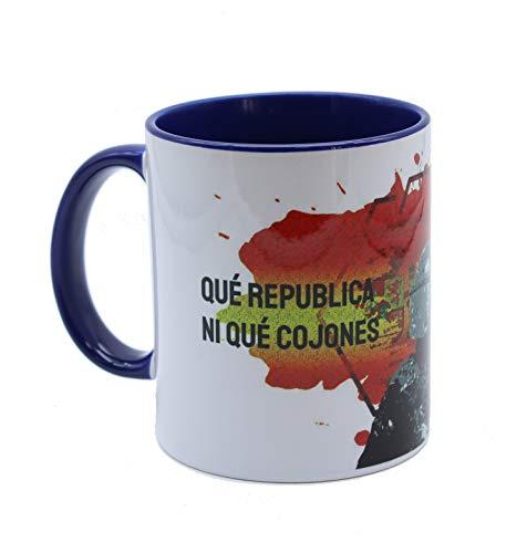 Taza desayuno y café con frases originales para regalar Policia Nacional (Diseño 1)