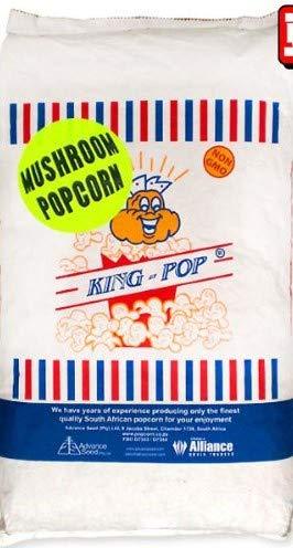 KING ポップコーン豆 マッシュルームタイプ 業務用 22.68kg