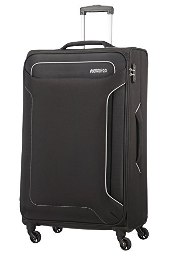 American Tourister Holiday Heat Valigia, Spinner L (79.5cm-108L), Nero (Black)