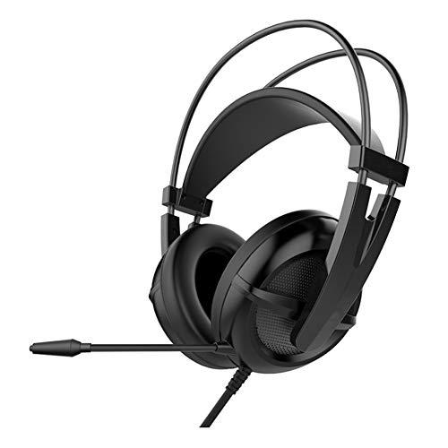 YYZLG Casque de jeu 7.1 Surround Sound Ps4 Xbox One, contrôleur, casque de réduction du bruit, avec microphone, lumière LED, basse ambiophonie